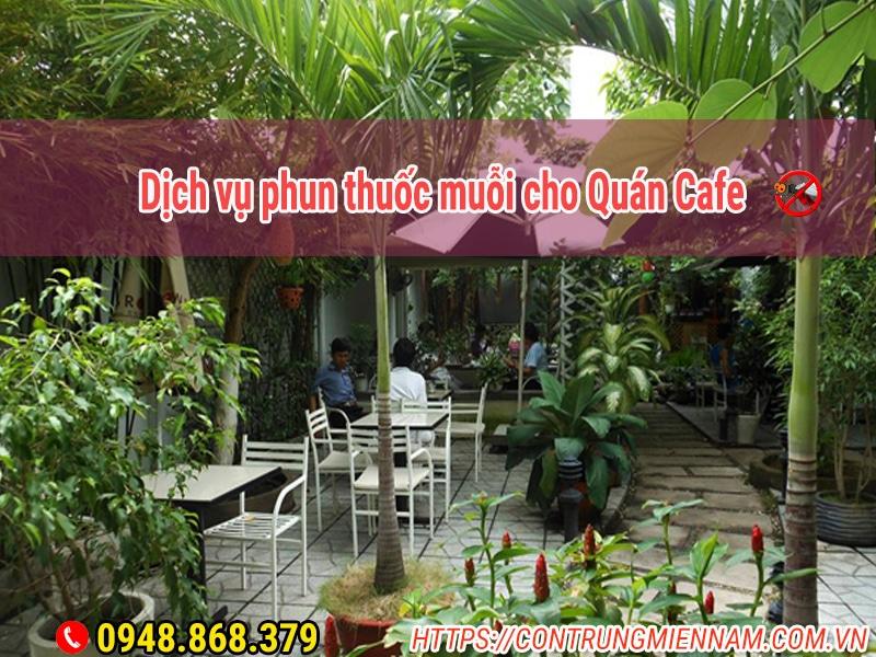 dịch vụ phun thuốc muỗi cho quán cafe