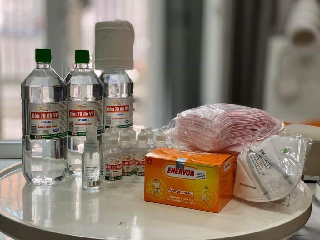 Bộ kit phòng Virut Corona