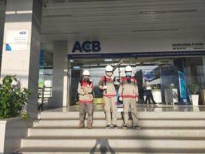 Khử trùng cho ngân hàng ACb Quận 7
