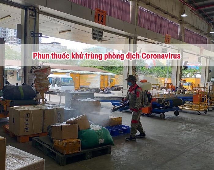 phun thuốc khử trùng phòng dịch corona tại tphcm