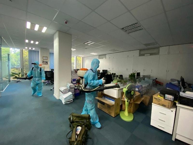 Dịch vụ phun thuốc khử trùng